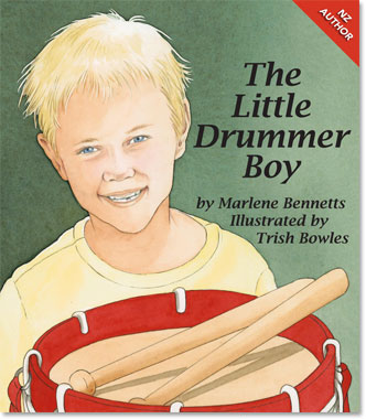 Book Cover - The little Drummer Boy