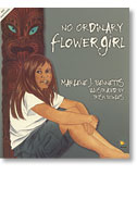 Book cover - No Ordinary Flower Girl