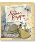Book cover - The Anzac Puppy