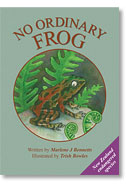 Book cover - No Ordinary Frog